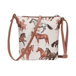 Steed & Style Sling bag running horses