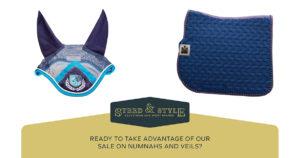 veils and numnah sale